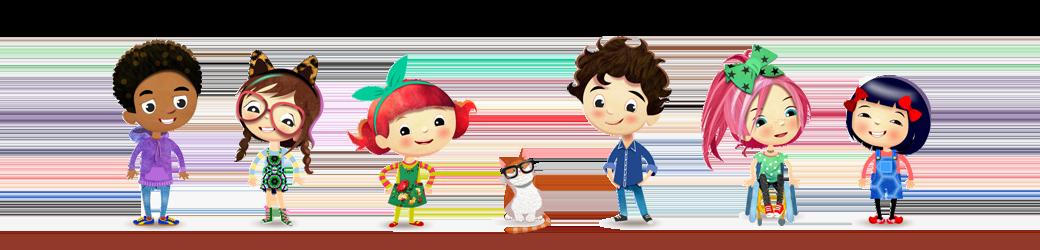 Peg and Pog characters